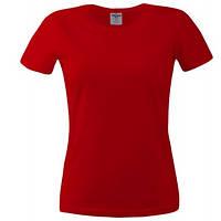 Футболка женская Keya 150G, красный