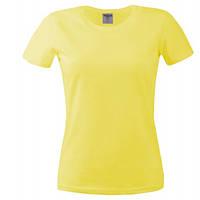Футболка женская Keya 180G, желтый