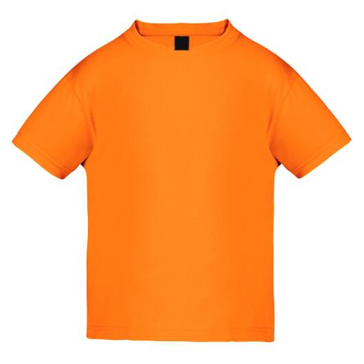 Футболка детская MEMO 140G, темно-оранжевый
