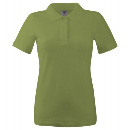 Поло женское Keya 170 G, темно-зелений