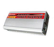 Инвертор, преобразователь, инвертор напряжения 12/220V - 1200W