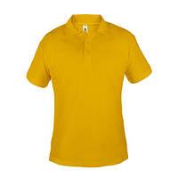 Поло мужское ROSA  180 г/м2, цвет - желтый