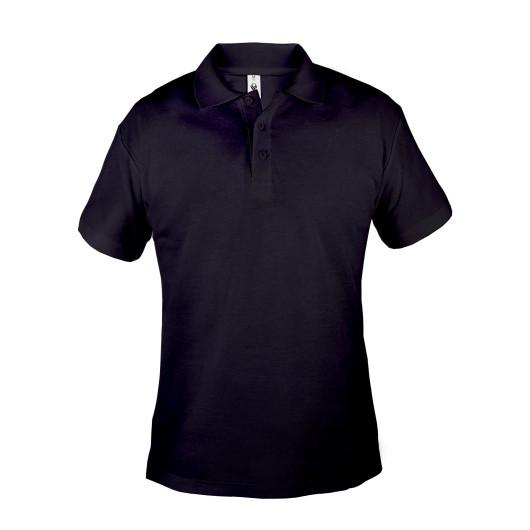 Поло мужское ROSA 180 г/м2, цвет - черный