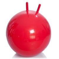 Гимнастический мяч с рожками М-355 (красный) 55 см Тривес