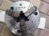 Патрон токарный клинореечный трех-кулачковый ручной самоцентрирующий. ПР-250.65.J6, фото 2