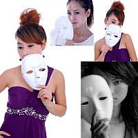 Карнавальная маска белая, безликая