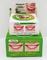 Тайская травяная зубная паста Зеленые травы Green Herb 25гр.+10gr bonus
