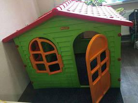 Детская площадка большой домик с горкой, фото 3