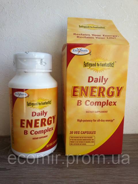 Комплекс витаминов группы В от Enzymatic Therapy (30 капсул / на 60-90 дней)