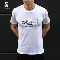 Футболка мужская beZet tech Original, белая