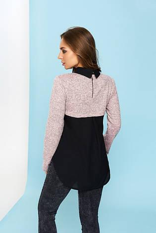 "Блуза ""Лючия"" (цвет - персик, размер - 2XL), фото 2"