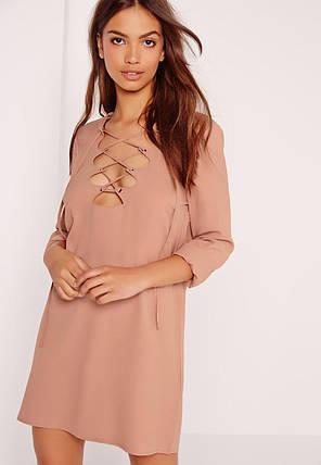 Новое платье со шнуровкой Missguided, фото 2