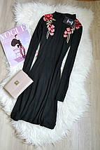 Новое короткое платье с вышивкой-аппликацией Boohoo, фото 3