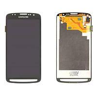 Дисплей (LCD) Samsung i9295 Galaxy S4 Active/ i537 + Сенсор (тачскрин) серый оригинал