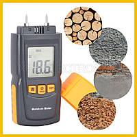 Влагомер древесины и стройматериалов GM605