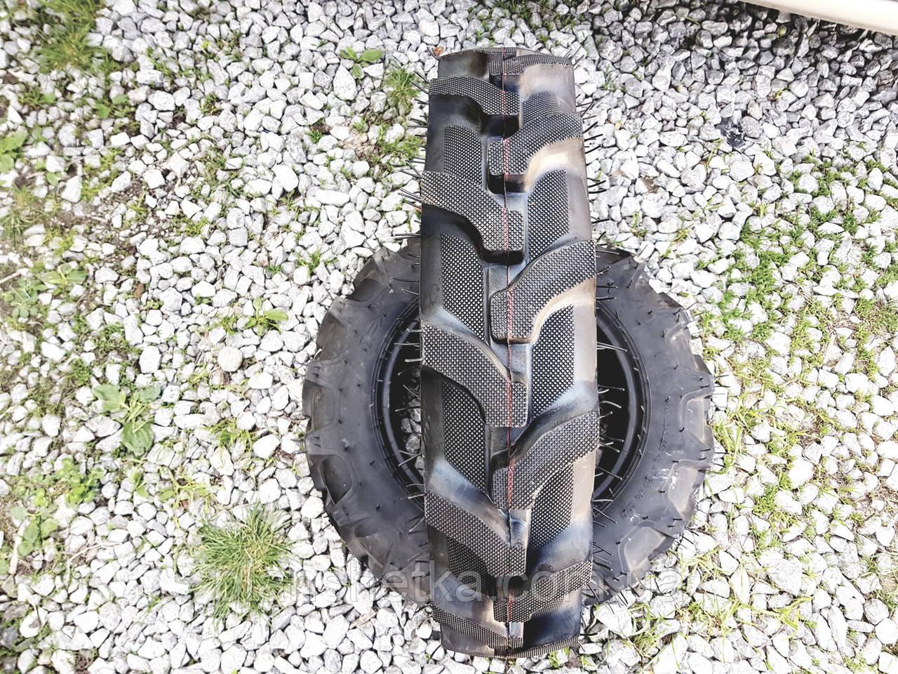 Шина 6.50-16 десяти шарова PR 10 з камерою для міні тракторів