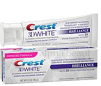 Зубная паста отбеливающая, Crest 3D White Brilliance, 116г США