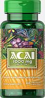 Ягоды Асаи, Acai 1000 mg, Puritan's Pride, 60 капсул