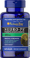 Фосфатидилсерин Neuro-PS (Phosphatidylserine) 100 mg, Puritan's Pride, 60 капсул