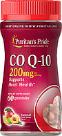 Коэнзим жевательный, Co Q-10 200mg, Puritan's Pride, 60 конфет вкус манго, фото 1