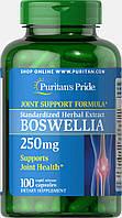 Босвеллия экстракт, Boswellia Extract 250 mg, Puritan's Pride, 100 капсул