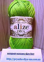 Летняя акриловая пряжа ( 100% микрофибра акрил, 100г/350м) Alize Diva 612