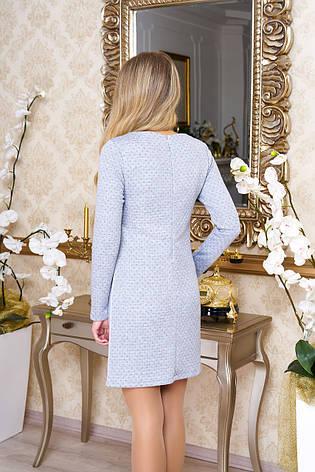 """Модное женское платье """"Арая"""" (меланж), фото 2"""