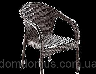 """Кресло """"Ege Rattan Koltuk"""" Irak Plastik, искусственный ротанг Турция, коричневый"""