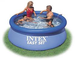 Надувной бассейн Intex 56970 (28110), Easy Set Pool 244 x 76 см