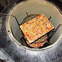 Тандыр 50 литров Кирпич+Набор шампуров 6 шт.  , фото 4