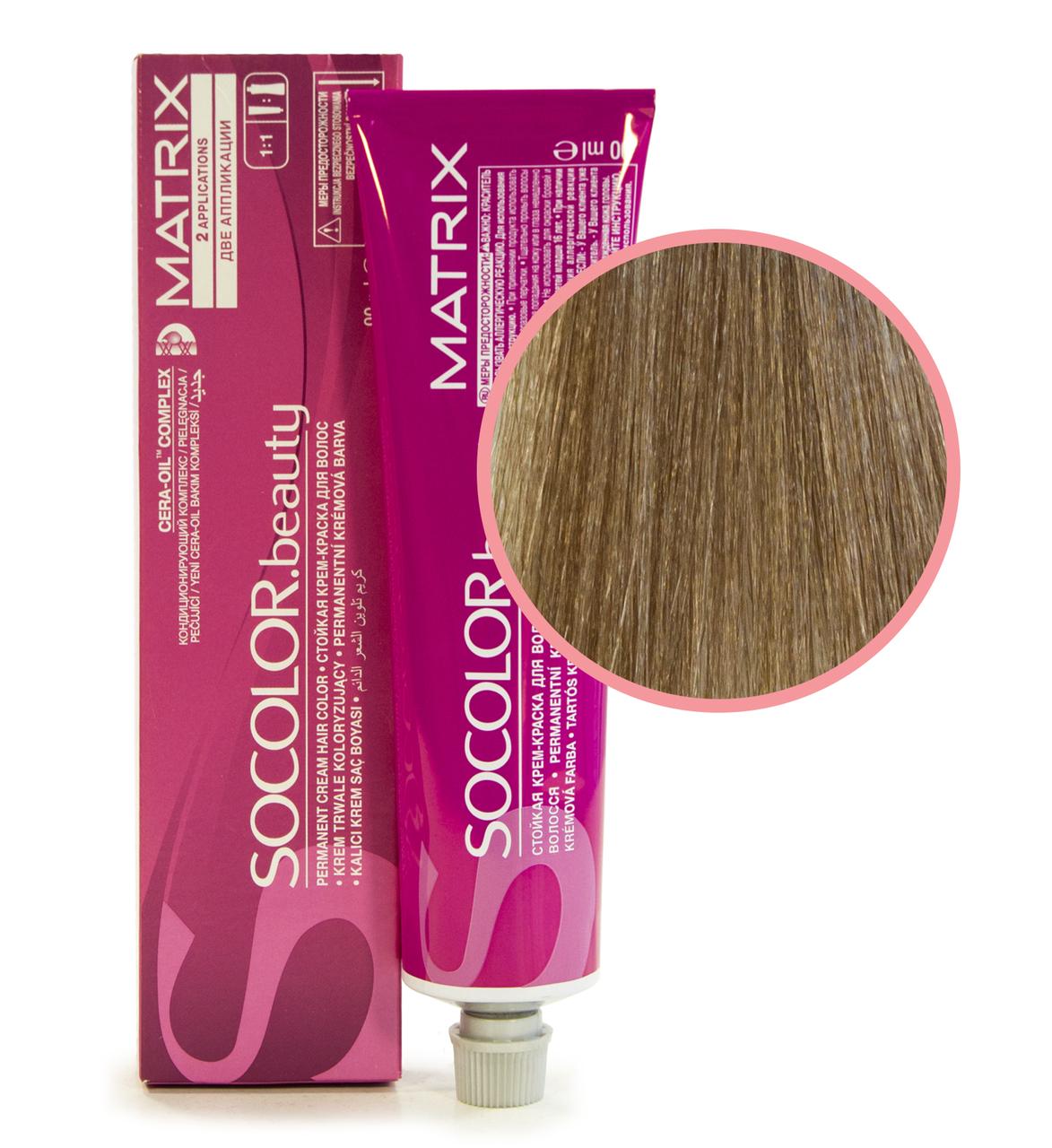 Matrix Socolor Beauty Стойкая крем-краска для волос 10N очень-очень светлый блондин 90мл