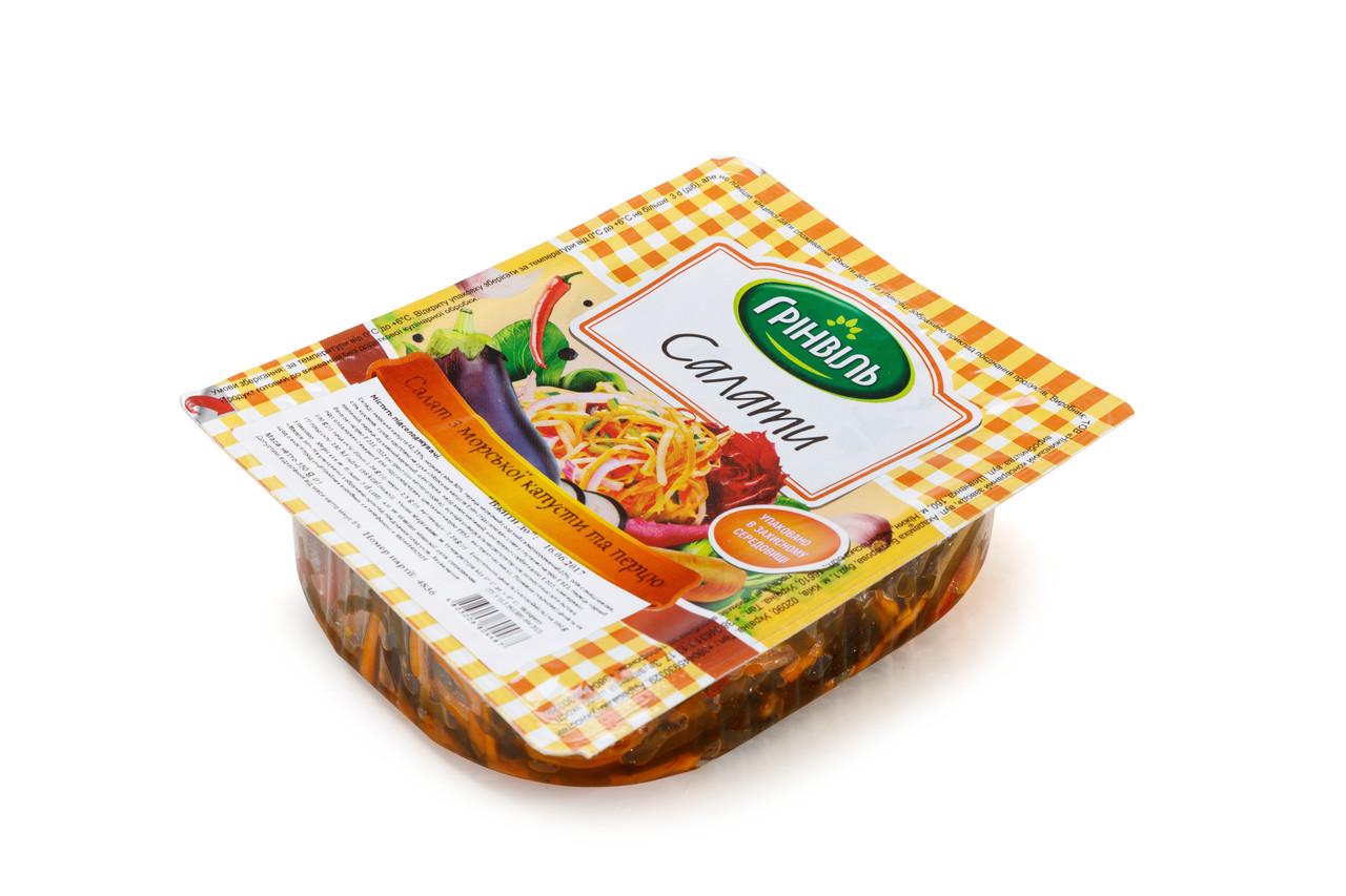 Салат Грінвіль 12шт по 350г з морської капусти і перцем