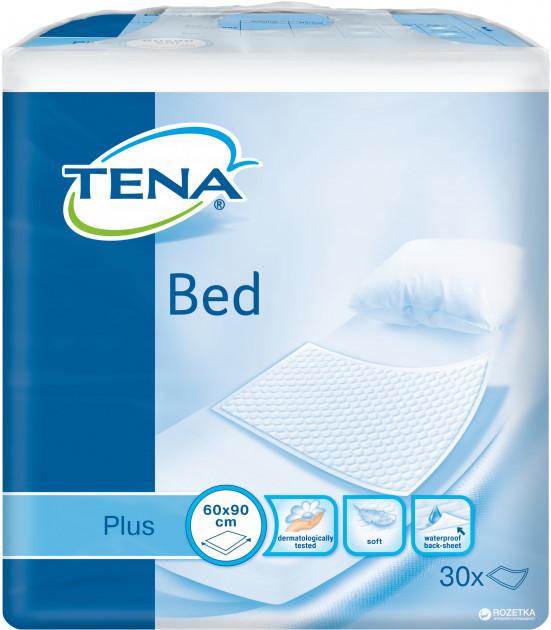 Одноразовые пеленки впитывающие Tena Bed Plus 60x90 30 шт
