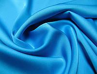 Ткань Шелк Армани  Голубая бирюза