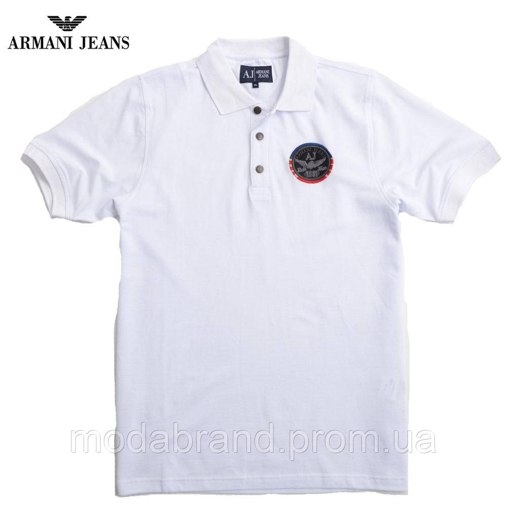 f4f5890c589d Футболка мужская стильная Armani-172(реплика) белая