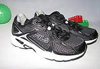Кроссовки Fila оригинал размер 32 черные 08026, фото 1