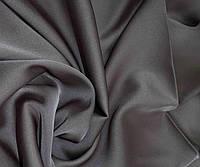 Ткань Шелк Армани  Темно серый