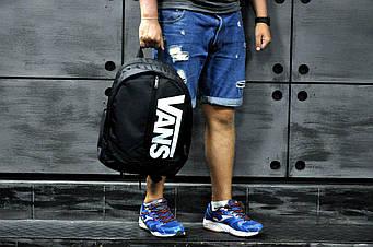 Спортивный рюкзак Vans черного цвета