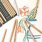 Пастельний олівець Faber-Castell PITT яскраво - червоний ( scarlet red ) № 118 , 112218, фото 8