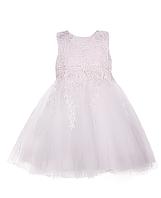 Шикарное белое  детское платье с пышной юбкой, фото 1