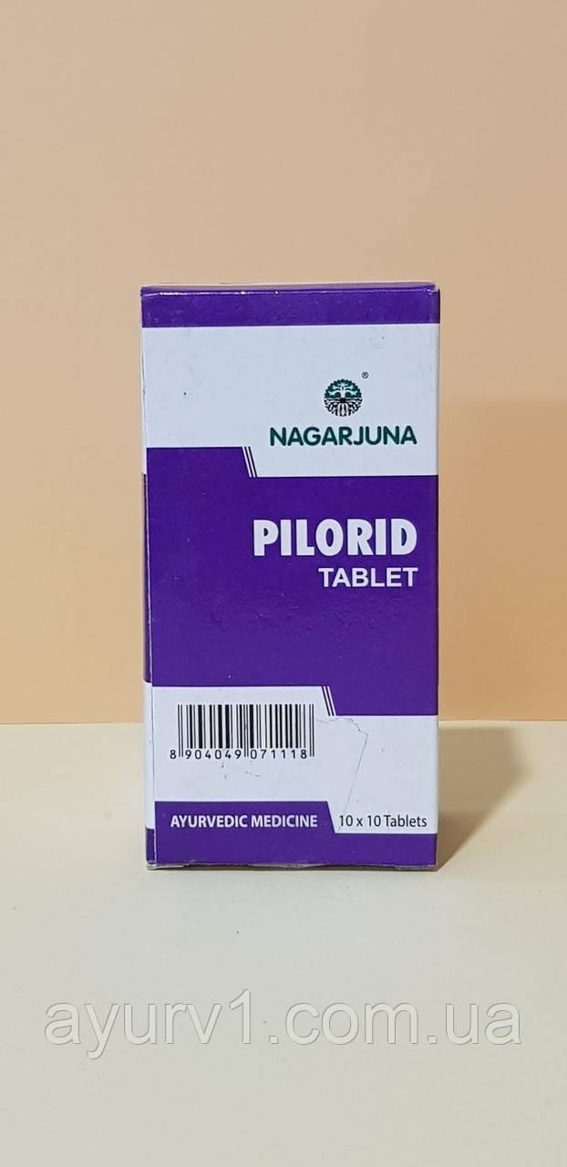 Пилорид, керальские  таблетки  / 100 таб