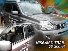 Дефлекторы окон (ветровики)  NISSAN X-TRAIL 2007 →(HEKO)