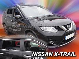 Дефлекторы окон (ветровики)   NISSAN X-Trail 2014->(HEKO)