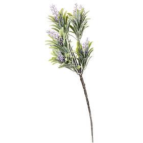 Искусственный цветок ветка с напылением 40 см  (049FW)