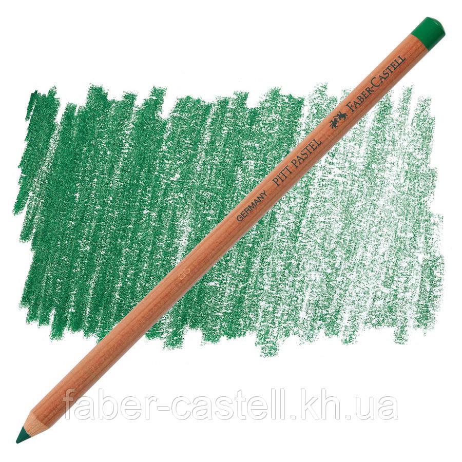 Карандаш пастельный Faber-Castell PITT хвойная зелень (pine green) № 267 , 112167