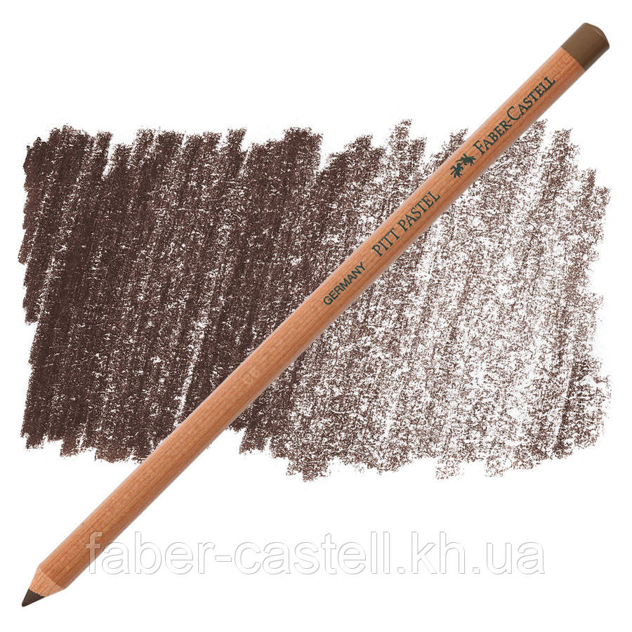 Карандаш пастельный Faber-Castell PITT жженая умбра (burnt umber)  № 280 , 112180