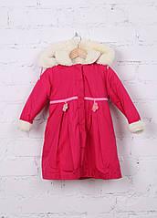 Пальто для девочки Малинка