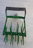 Культиватор ручной 4-х рядный игольчатый