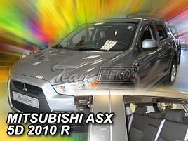 Дефлекторы окон (ветровики)  MITSUBISHI ASX 2010R-> (HEKO)