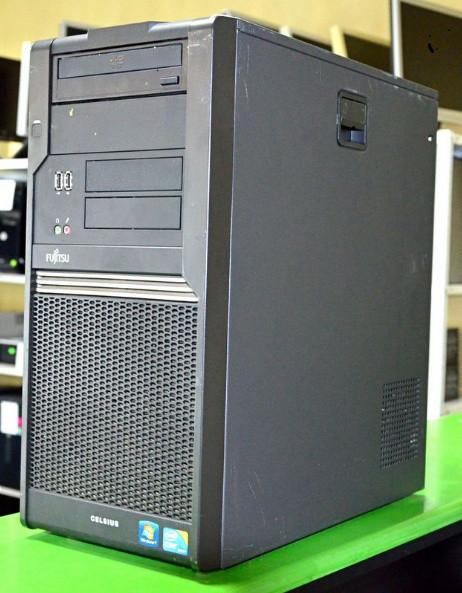 Системный блок, компьютер, Intel Core Quad, 4 ядра по 2,4 Ггц, 4 Гб ОЗУ DDR-2, HDD 250 Гб, видео 512 Мб